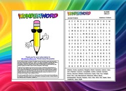 Wonderword The World S Greatest Word Search Puzzle